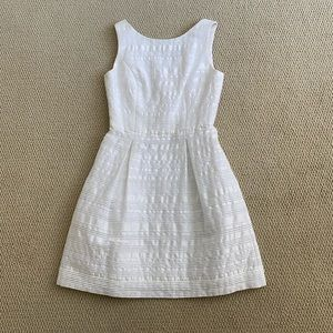 Trina Turk white cocktail dress- size 2